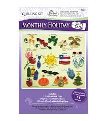 Quilled Creations Monthly Holiday Gift Tags Quilling Kit   JOANN