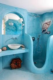 bathroom decor ideas unique decorating:  modern bathroom design and decorating ideas incorporating sea shell art and