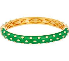 Heritage <b>Jewelry Diamond Pattern</b> Hinged Enamel <b>Bracelet</b> - Page ...