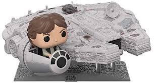 <b>Funko Pop</b>! Deluxe: Star Wars - Millennium Falcon with <b>Han Solo</b> ...