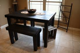 black kitchen dining sets: impressive idea black kitchen table sets sensational design black kitchen table sets and vintage pub style dining sets with black painted wood