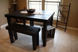 black kitchen dining sets: impressive idea black kitchen table sets sensational design black kitchen table sets and vintage pub style dining sets with black painted wood