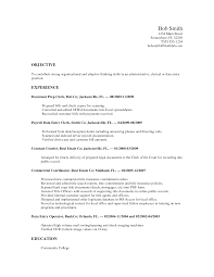 examples objectives for resumes nonprofit resume objectives examples objectives for resumes sample resume for barista job builder sample resume for barista job