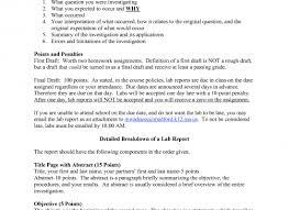 Multi Part Lab Report Format Home   FC