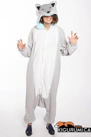 Ghost <b>Wolf Kigurumi</b> | Pajama set, Satin pyjama set, Cute pajamas