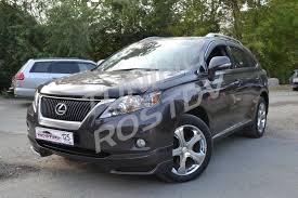 <b>Накладка</b> на передний бампер (<b>губа) на</b> Lexus RX350 / RX450h ...
