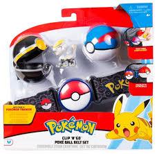 <b>Игровой набор</b> РОСМЭН <b>Pokemon</b> Пояс для Поке-тренов ...