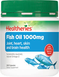 <b>Fish Oil 1000mg</b> Capsules