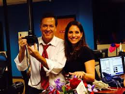 s a anchorw evy ramos said she was fired from woai tv san randy beamer and evy ramos had a fun chemistry on and off the air photo