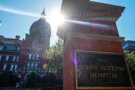 <b>Johns Hopkins Hospital</b> ranked third in the nation by 'U.S. News'   Hub