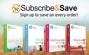 HP Paper Printer Paper 8.5x11 BrightWhite 24 lb 1 ... - Amazon.com