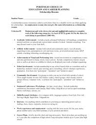 examples of resumes job resume sample high school scholarship 89 outstanding outline of a resume examples resumes