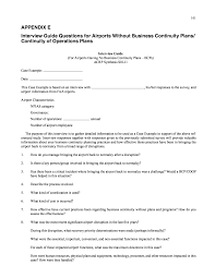 appendix e interview guide questions for airports out business page 103