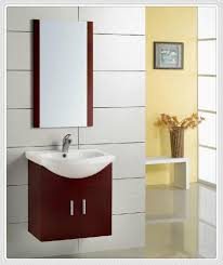 small bathroom vanities with red cabinets and single sink brown bathroom furniture