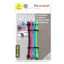 Хомуты для кабеля <b>FIX</b>-<b>O</b>-<b>MOLL</b> 4-цветная 76мм купить в Томске