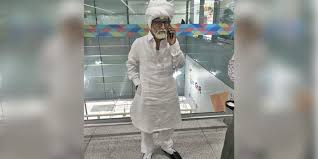 Indian <b>man</b>, 32, caught in <b>old man</b> disguise with 81-year-<b>old's</b> ...