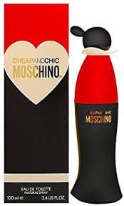 <b>Moschino Cheap</b> and Chic Eau de Toilette for Her - 100 ml: Amazon ...