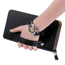 Luxury Business Double Zipper <b>Men</b> Clutch <b>Bag</b> Luxury Business ...