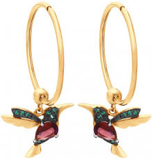 <b>Серьги кольца</b> конго — купить круглые сережки в интернет ...