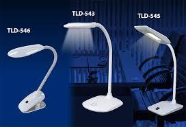 Бюджетные <b>настольные</b> светодиодные светильники <b>TLD</b>-543 ...