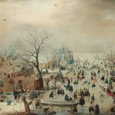 <b>Winter Landscape</b> with Ice Skaters, Hendrick Avercamp, c. 1608 ...