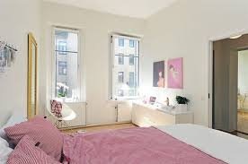 room apartment interior design home inerior style:  modern style of decorating a small studio apartment cozy small studio apartment interior with pink