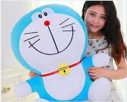 huge lovely plush new smile doraemon toy stuffed big blue ...