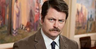 """Illinois alumnus Nick Offerman, who plays Ron Swanson on """"Parks and Recreation,"""" returns to the U. of I. to raise funds for Japan House. - offerman,nick_x"""
