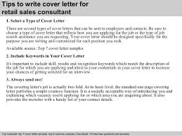 3 tips to write cover letter for retail sales retail sales cover letter
