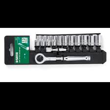 <b>SATA</b> 13PC <b>1</b>/<b>4'DR SOCKET SET</b> 4-14MM METRIC 09521 | Shopee ...
