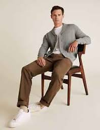 <b>Men's Cotton</b> Knitwear | M&S