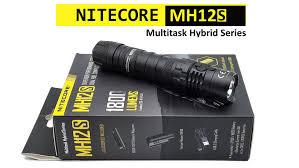 [REVIEW] <b>Nitecore MH12S</b> - 21700 - <b>1800</b> lm.