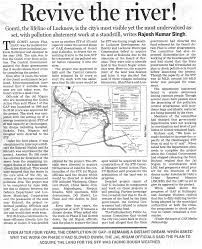 centre for science and environment revive the river the hindustan times 2007