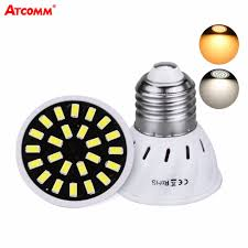 High Lumen <b>E27</b> Lamp AC 110V 220V 4W 6W 8W Ultra <b>Bright</b> ...