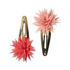 "<b>Заколки</b> ""Dahlia Flower"", малиновая и коралловая бренда <b>Maileg</b> ..."
