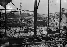 marshall plan in pictures george c marshall foundation war destruction in the industrial region of northern 1945