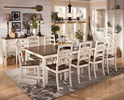 11 Piece Dining Room Set Specialties Dining Set Pcs White Marble Metal White Marble Monarch