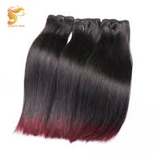 <b>AOSUN Hair Brazilian</b> Double Drawn Fumi Bone Straight 1b/99j ...