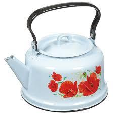 <b>Чайник эмалированный Сибирские товары</b> декор С2713/С2713 ...