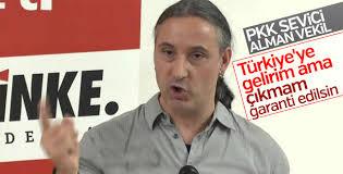 PKK yandaşı Alman milletvekilinin Türkiye korkusu
