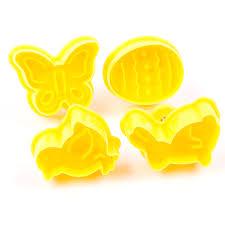 Butterfly,Rabbit,Chick,Easter Egg Shape <b>Animal Plastic Fondant</b> ...