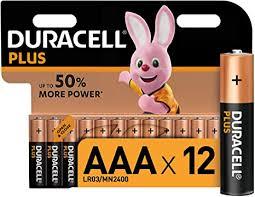 <b>Duracell</b> Plus <b>AAA</b> Alkaline Batteries , 1.5 V <b>LR03</b>: Amazon.co.uk ...