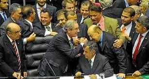 Resultado de imagem para eleição de Eduardo Cunha à presidência da Câmara