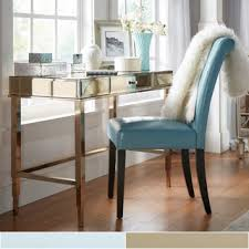 desk office camille beveled mirrored accent 1 drawer office writing desk by inspire q awesome office desks ph 20c31 china