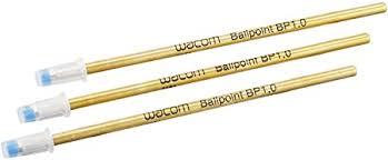 <b>Wacom</b> ACK22207 <b>Ballpoint Pen</b> Refills with 1.0 mm Nibs and Black ...