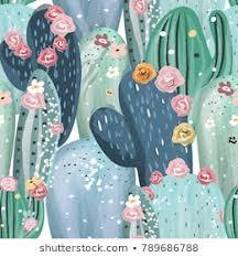 <b>Cactus</b> Seamless <b>Pattern</b> Images, Stock Photos & Vectors ...