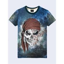 <b>3D</b>-<b>футболка мужская</b> Череп пирата | Apelsin.Org.Ua | <b>Мужские</b> ...