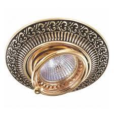 Встраиваемый <b>светильник Novotech</b> Vintage <b>370017</b> — купить в ...
