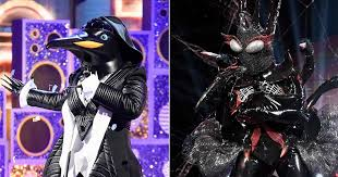 The Masked Singer recap: Penguin, Black Widow unmasked to ...
