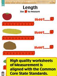 Kids Math-Measurement Worksheets(Grade 1) on the App StoreiPad Screenshot 1